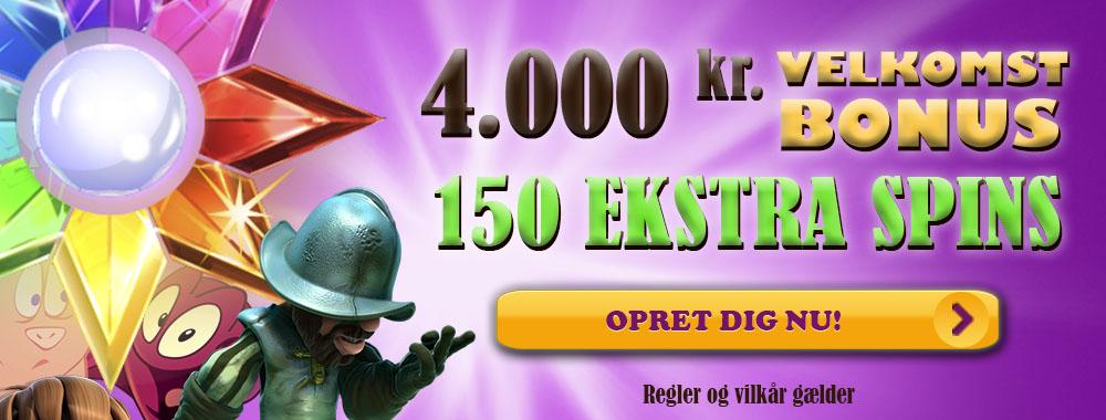 Modtag din velkomstbonus hos Bingosjov med ekstra gratis spins