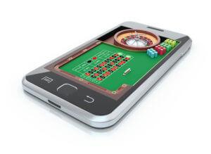Spil roulette hos et casino på smartphone