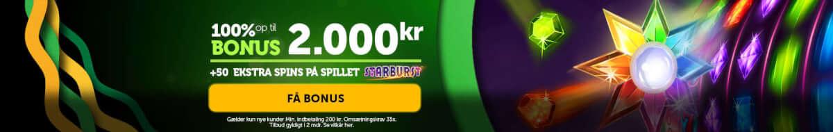 Få din casinoluck.dk bonuskode hos Bonusvegas.dk