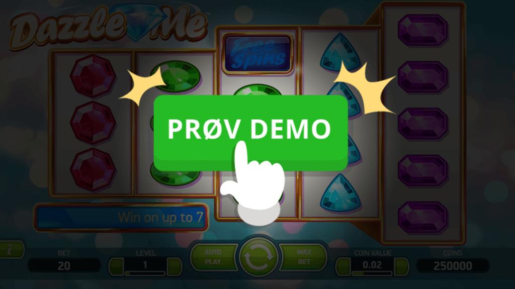 Prøv gratis demo af Dazzle Me