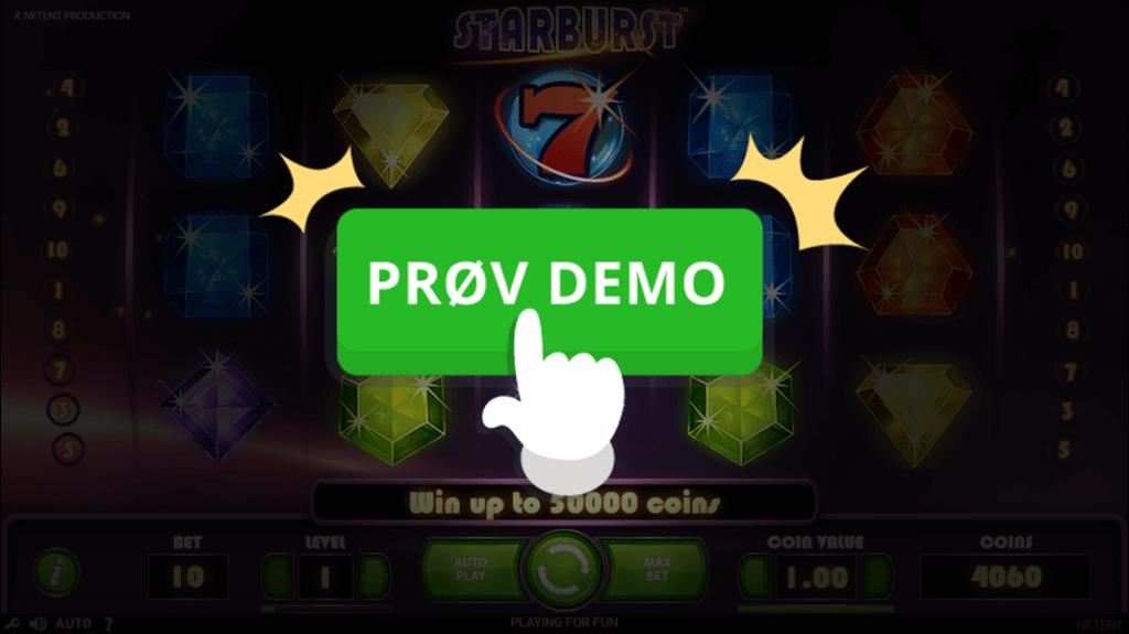 Prøv gratis demo af Starburst