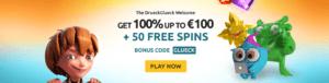 Brug vores DrueckGlueck bonuskode og modtag 50 gratis spins