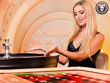 Spil live roulette hos Leovegas