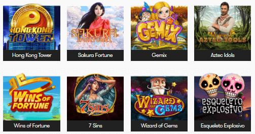 Her kan du se de mest populære spil hos InterCasino