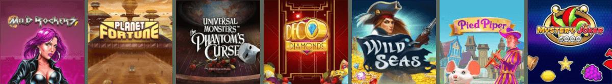 De nyeste spil hos casinoudbyderen Maria